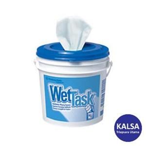 Kimberly Clark 6411 White Kimtech Wettask System Wipers