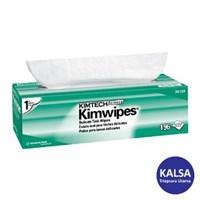 Kimberly Clark 34256 White Kimtech Science Kimwipes Wipers 1