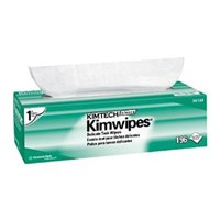 Kimberly Clark 34256 White Kimtech Science Kimwipes Wipers