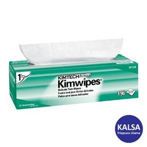 Kimberly Clark 34256 White Kimtech Science Kimwipes Wipers