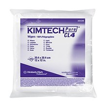 Kimberly Clark 33330 White Kimtech Pure CL4 Critical Task Wipers