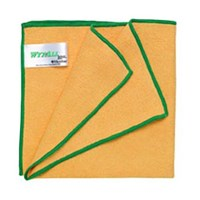 Kimberly Clark 84610 Yellow Wypall Microfibre with Microban Wipers 1