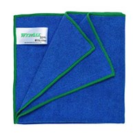 Kimberly Clark 84620 Blue Wypall Microfibre with Microban Wipers 1