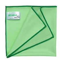 Kimberly Clark 94229 Green Wypall Microfibre with Microban Wipers