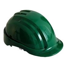 Leopard LPHL 0300 Green Safety Helmet Head Protection