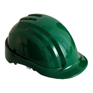 Leopard LPHL 0300 Green Safety Helmet Head Protection