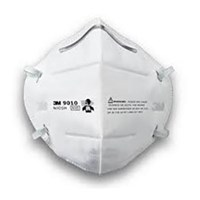 3M 9010 Flat Folded Particulate Respiratory Protection 1