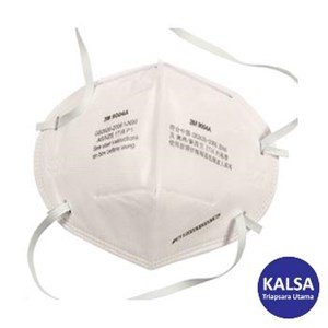 3M 9004A 100 P1 Flat Folded Particulate Respiratory Protection