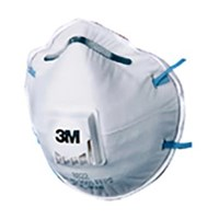 3M 8822 P2 Dust and Mist Valved Respiratory Protection 1