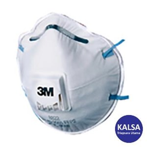 3M 8822 P2 Dust and Mist Valved Respiratory Protection