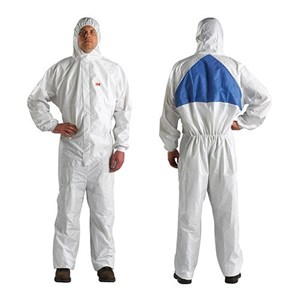3M 4540 Size L Safety Coverall Body Protection