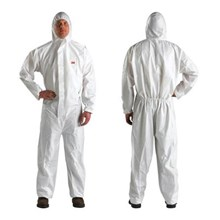 3M 4515 Size L Safety Coverall Body Protection