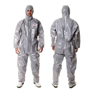 3M 4570 Size L Safety Coverall Body Protection