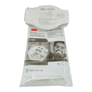 3M 1744 Particulate Filter dan Holder Respiratory Protection