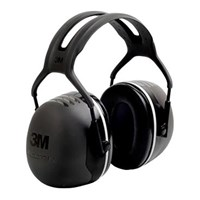 3M X5A Peltor X Series Ear Muffs Black Hearing Protection