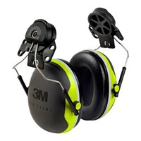 3M X5P3E Peltor X Series Ear Muffs Hi-Viz Hearing Protection 1