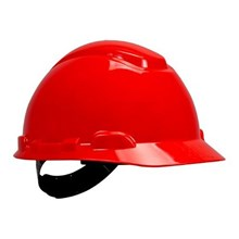 3M H-705P Red 4-Point Pinlock Suspension Hard Hat Head Protection