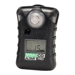 From MSA Altair Pro CO Single Gas Detector 0