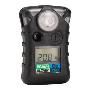From MSA Altair Pro O2 Single Gas Detector 0