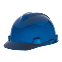 MSA Fastrack V-Gard Caps Blue Head Protection 1
