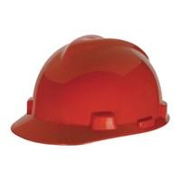 MSA Fastrack V-Gard Caps Red Head Protection 1