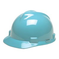 MSA Fastrack V-Gard Caps Light Blue Head Protection 1