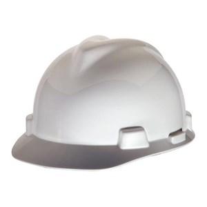MSA Fastrack V-Gard Caps White Head Protection