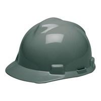 MSA Staz On V-Gard Caps Gray Head Protection 1