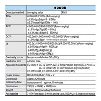 Jual Kyoritsu KEW 2200R Digital Clamp Meter 2