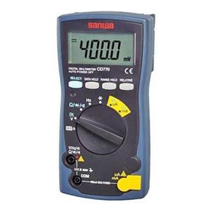 Sanwa CD770 Digital Multimeter