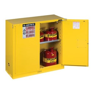 Justrite 893020 Yellow Industrial Safety Cabinet