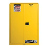 Justrite 894500 Yellow Industrial Safety Cabinet