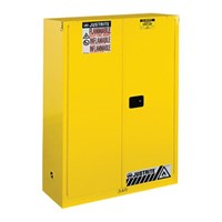 Justrite 894520 Yellow Industrial Safety Cabinet