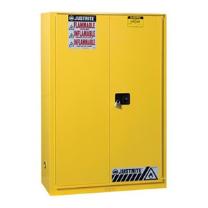 Justrite 894580 Yellow Industrial Safety Cabinet