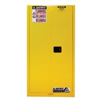 Justrite 896020 Yellow Industrial Safety Cabinet 1
