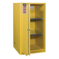 Dari Justrite 896080 Yellow Industrial Safety Cabinet 1
