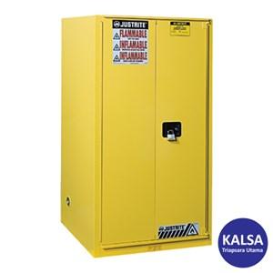 Dari Justrite 899080 Yellow Industrial Safety Cabinet 0