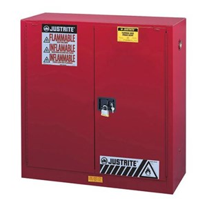 Justrite 893301 Red Industrial Safety Cabinet