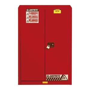 Justrite 894521 Red Industrial Safety Cabinet