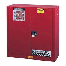 Justrite 894581 Red Industrial Safety Cabinet