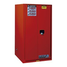 Justrite 896081 Red Industrial Safety Cabinet