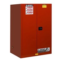 Justrite 899001 Red Industrial Safety Cabinet 1