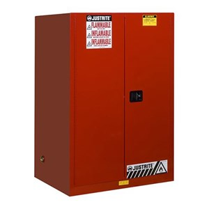 Justrite 899001 Red Industrial Safety Cabinet