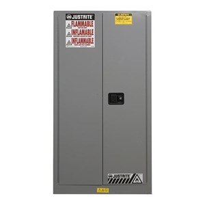 Justrite 896003 Gray Industrial Safety Cabinet