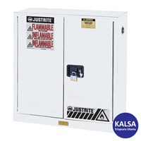 Justrite 894505 White Industrial Safety Cabinet
