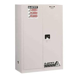 Justrite 894525 White Industrial Safety Cabinet