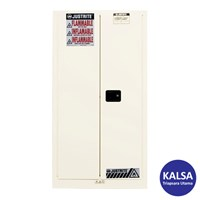 Justrite 896005 White Industrial Safety Cabinet