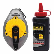 Stanley 47-487L Fatmax Xtreme Reel with Read Fatmax Chalk Kit Layout Tool