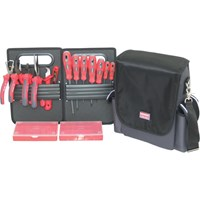 Kennedy KEN-595-3400K 16-Piece Electricians VDE Tool Bag and Kit 1