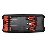 Kennedy KEN-595-1600K 1000 V Dual Grip Screwdriver and Plier Set 1